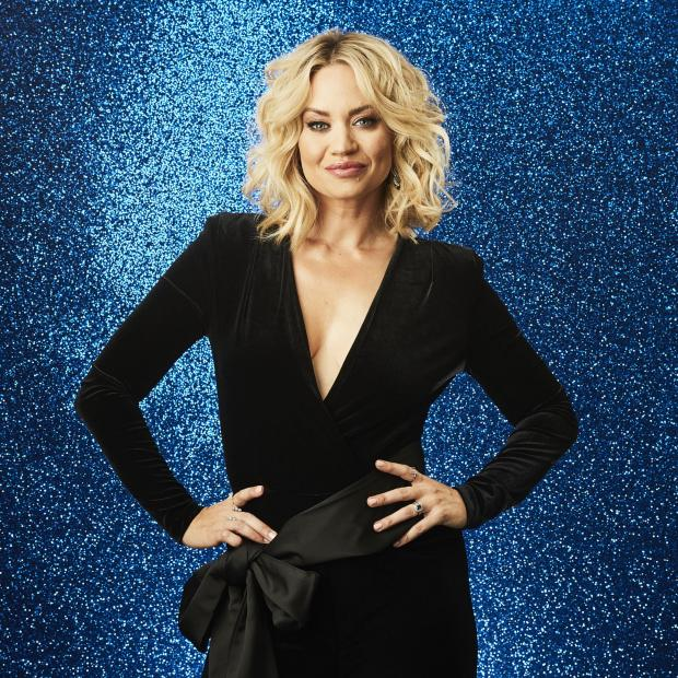 Barry And District News: Kimberly Wyatt. Credit: ITV