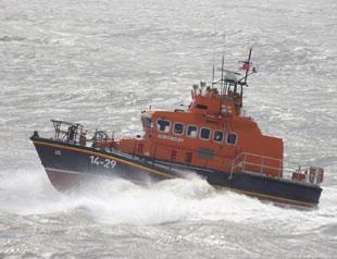 FUNDRAISING HELP: Barry Dock's lifeboat.