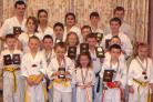 COMPETITORS: Cadoxton Schools of Taekwondo students