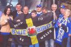 FANS: Cardiff City supporters from Barry