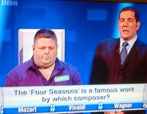 Barry tile store worker is a £25,000 TV quiz show winner