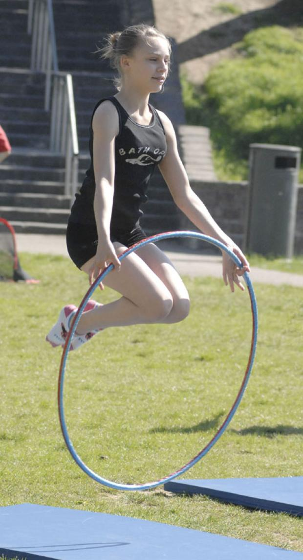RHYTHMIC GYMNASTICS: youngsters will also be able to have a go at rhythmic gymnastics.