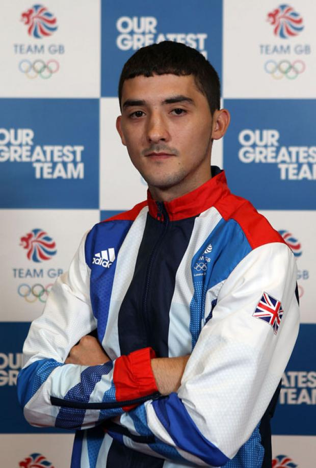 THROUGH: Andrew Selby reaches the last eight.
