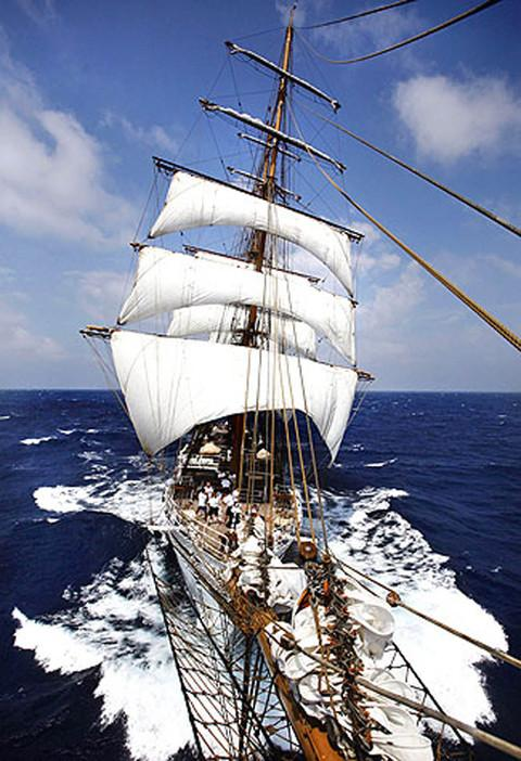 EXPERIENCE: Tall Ship Stavros S Niarchos - open to visitors from 11am to 4pm each day.