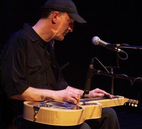 BLUES AND ROOTS: Exceptionally gifted slide player Michael Messer.