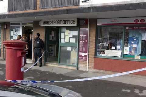 Murch post office this morning. Picture: www.danjamesmedia.com