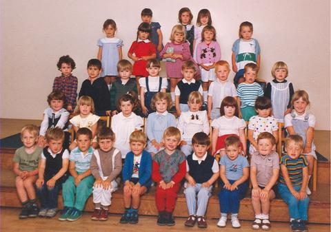 Crossway Methodist Church playgroup in 1985.