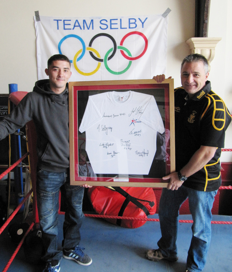 DONATION: Andrew Selby has donated a signed shirt to the JAM Fund.
