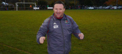 MANAGER: Gavin Chesterfield was reinstated as Barry Town manager last Friday (December 14).