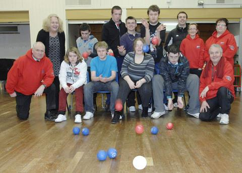 ON OFFER: The Paralympic sport of boccia can now be played in several youth centres in the Vale of Glamorgan such as the one at Ysgol Maes Dyfan in Barry.