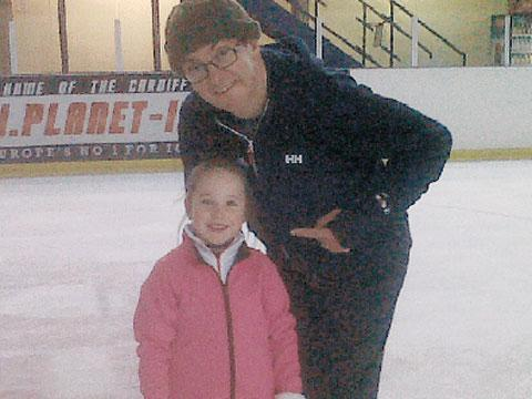 EXPERT: Harriett passes on tips to comedian and Dancing On Ice star Joe Pasquale