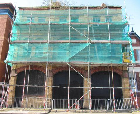 DERELICT: The former Barry Fire Station has fallen into disrepair