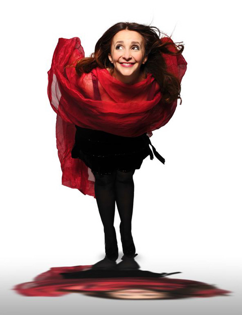 Lucy porter will visit Abergavenny and Newport during 2013.