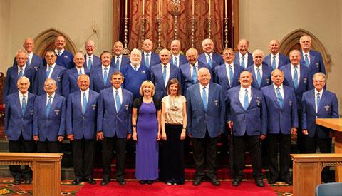 DONATION: Barry Male Voice Choir