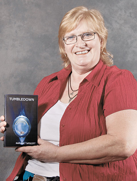 AUTHOR: Marlene Tapscott has published her first book, Tumbledown