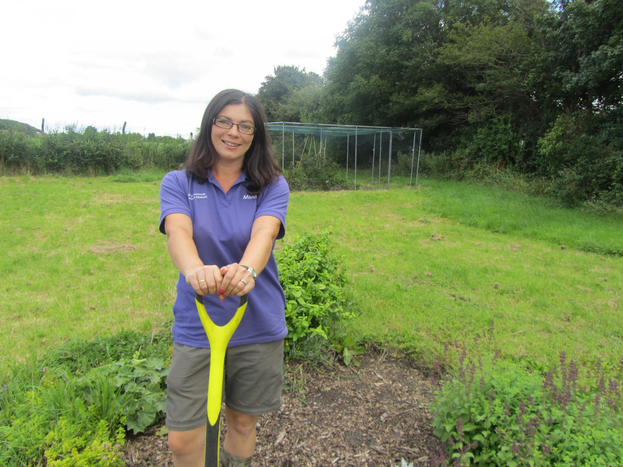 Bags of support for Barry Community Garden