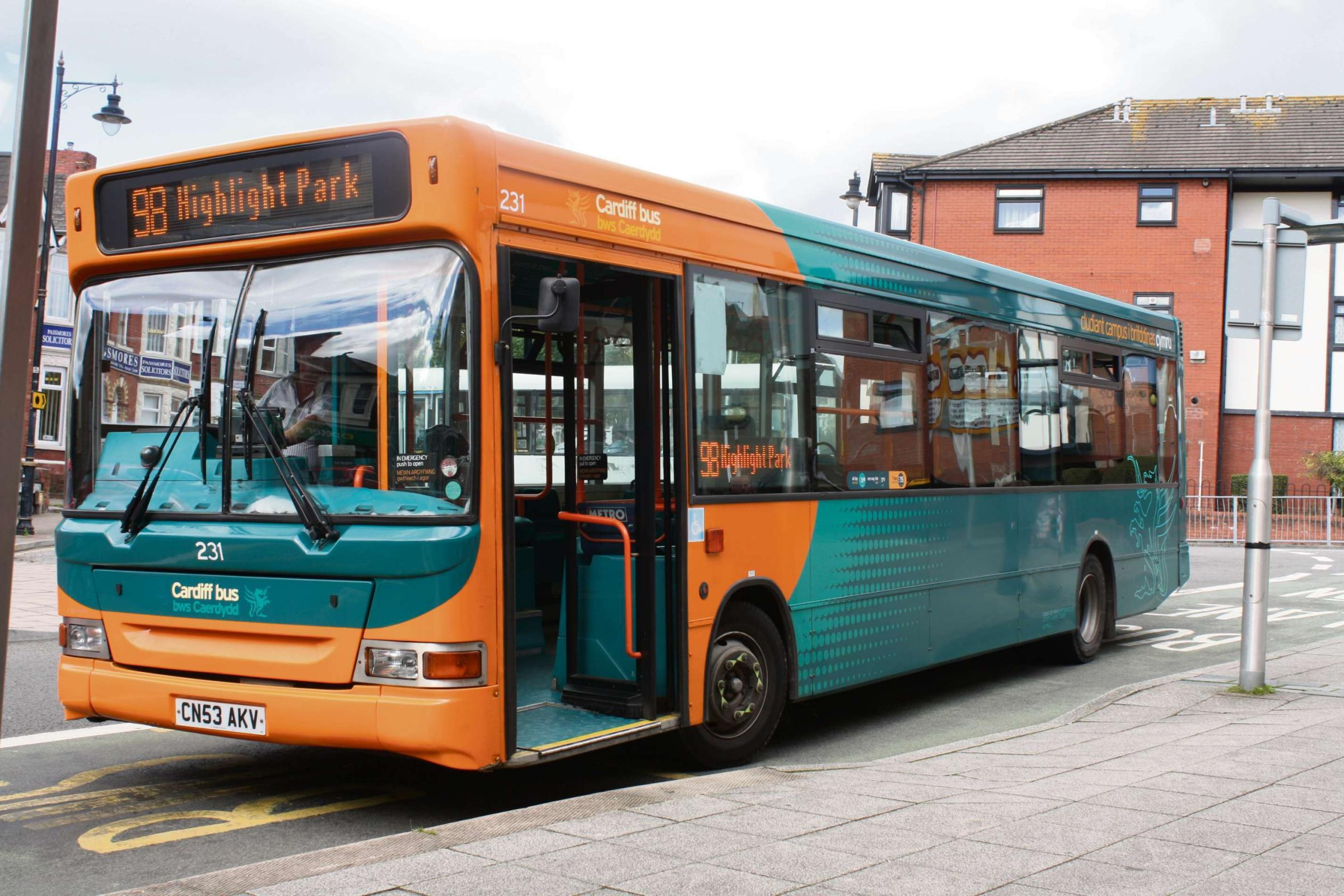 Cardiff Bus operates in Barry