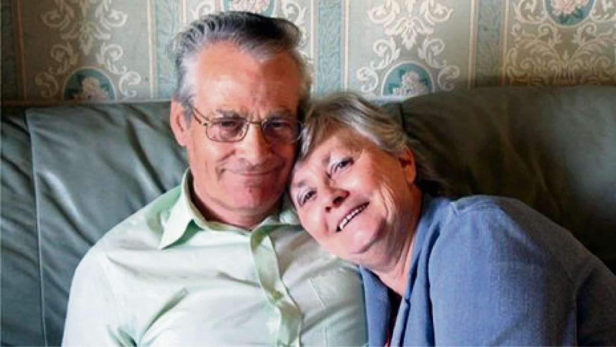 TRAGIC: Anthony and Pamela Adams, who died in the pile-up