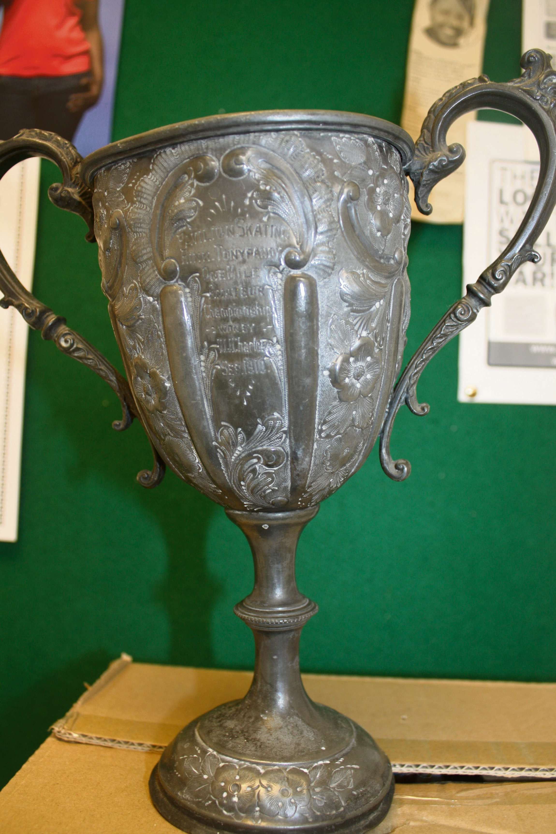 Mystery over found trophy