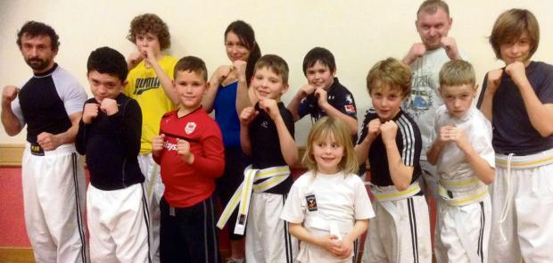 Barry And District News: FIRST BELTS: Students of Sully-based Phoenix Freestyle, formed just six months ago, recently graded for their first martial arts belts.