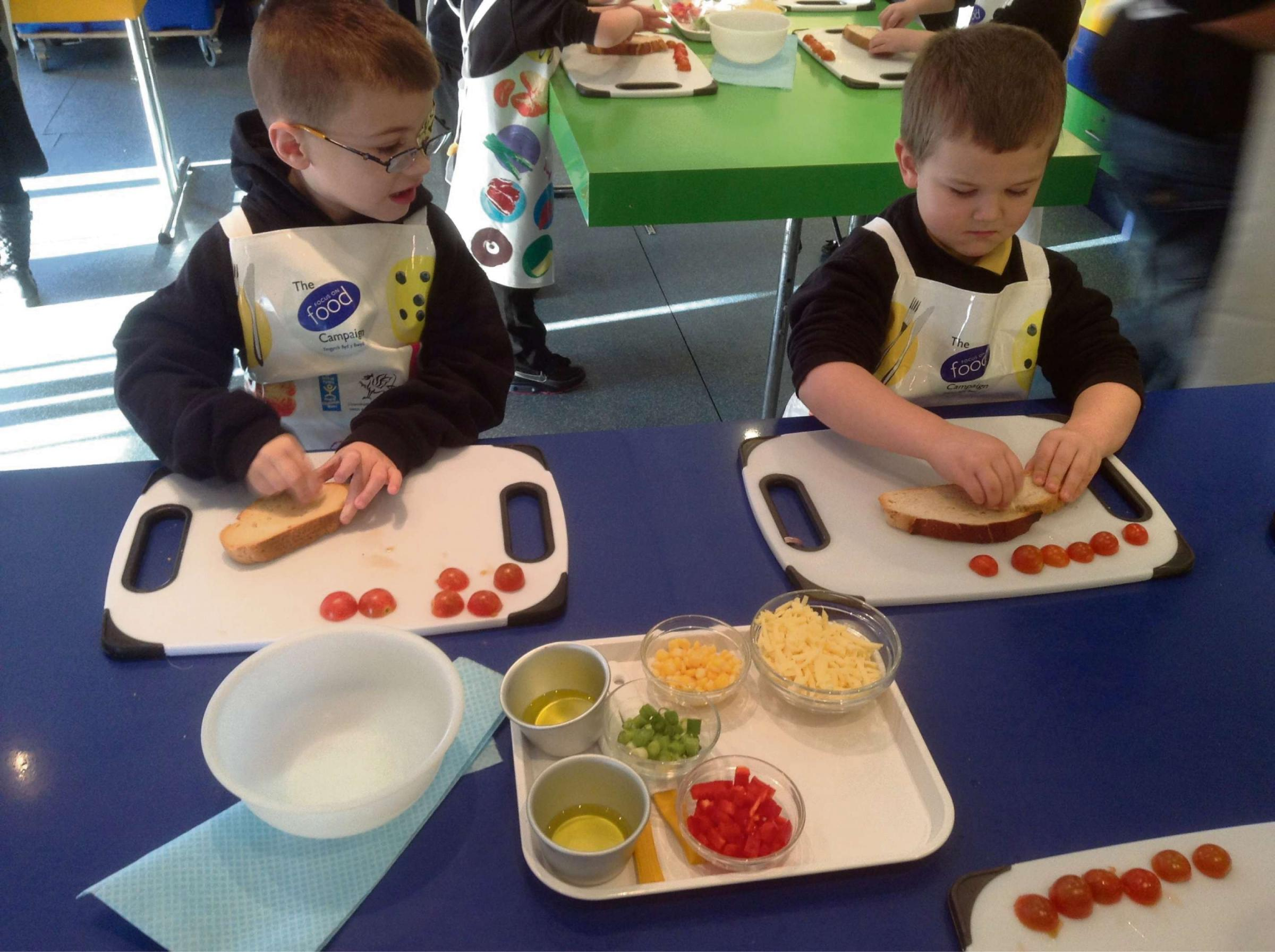 Budding chefs board cooking bus