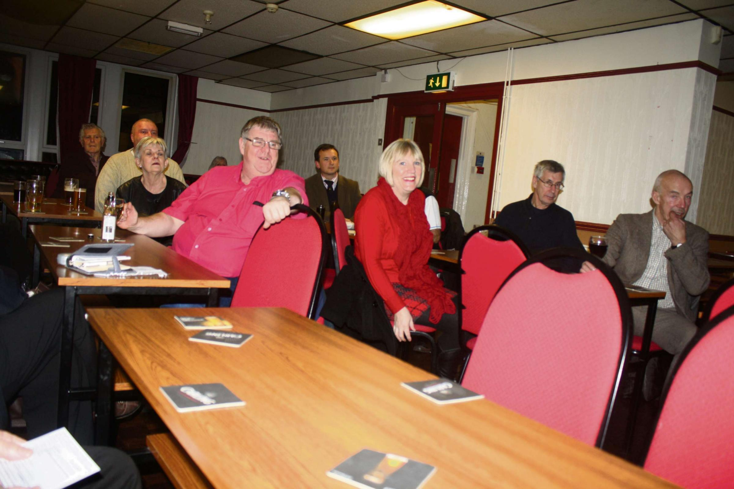 BUS FOCUS: Residents attending the FocusBARRY AGM gained an overview of Cardiff Bus services
