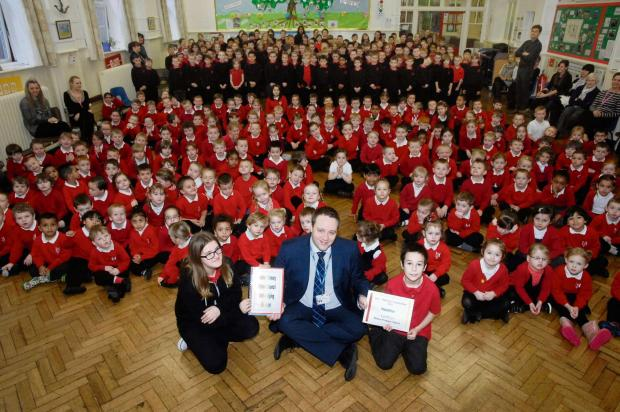 ANTI BULLYING: Holton Primary wins competition prize