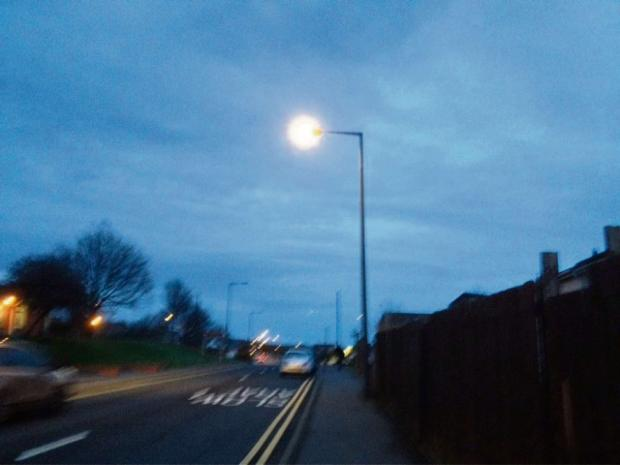 Barry And District News: SHEDDING LIGHT: Skomer Road, Gibbonsdown (4238264)