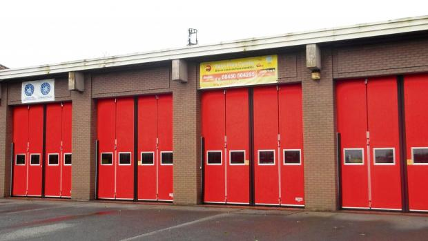 HOAX CALL: Barry Fire Station