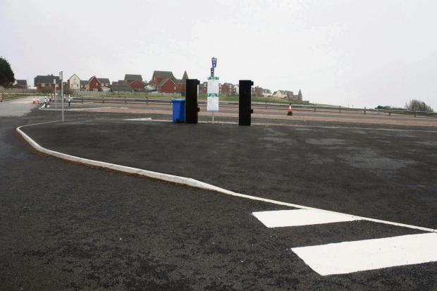 Barry And District News: SITE: Nell's Point car park, Barry Island (4086897)