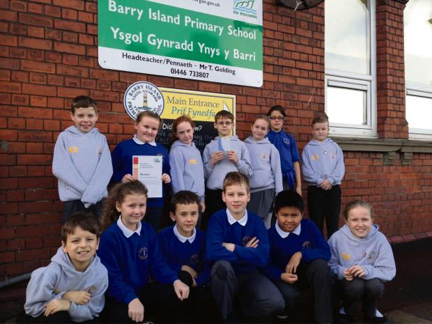 Barry And District News: AWARDS FOR ALL: Barry Island primary pupils