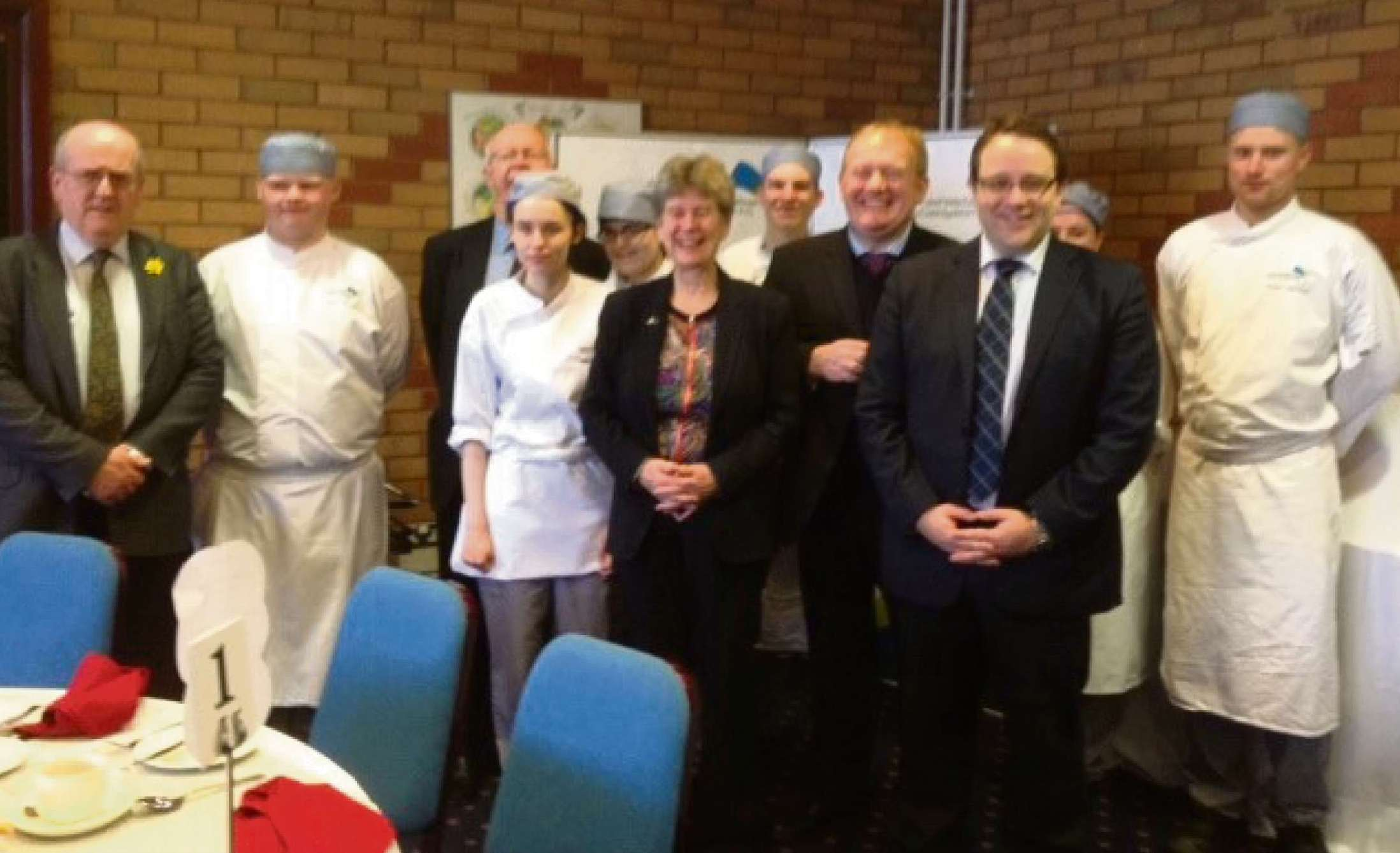BREAKFAST CLUB: The annual spring breakfast at Cardiff & Vale College (4783398)