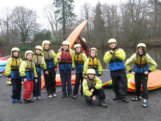 ADVENTURE: Pupils from Holton Road Primary during their trip to Llanwrtyd Wells  (5364472)