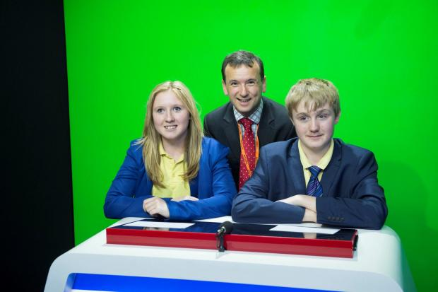 TELEVISION TIPS: St Richard Gwyn pupils screen test Vale MP Alun Cairns