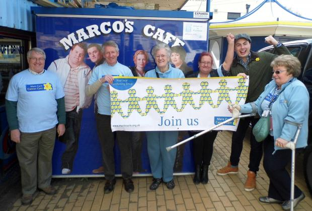 RELAUNCH: Marie Curie hospice fundraising group.  (5397466)