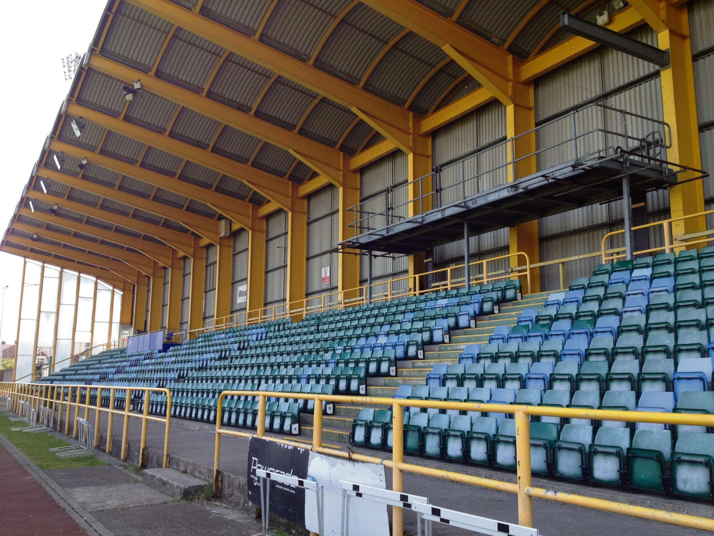 Jenner Park, home to Barry Town United (5415401)