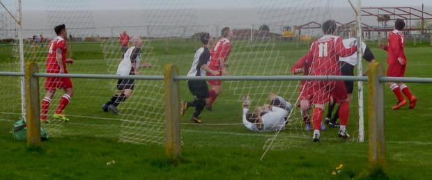 GOALMOUTH ACTION: Sully