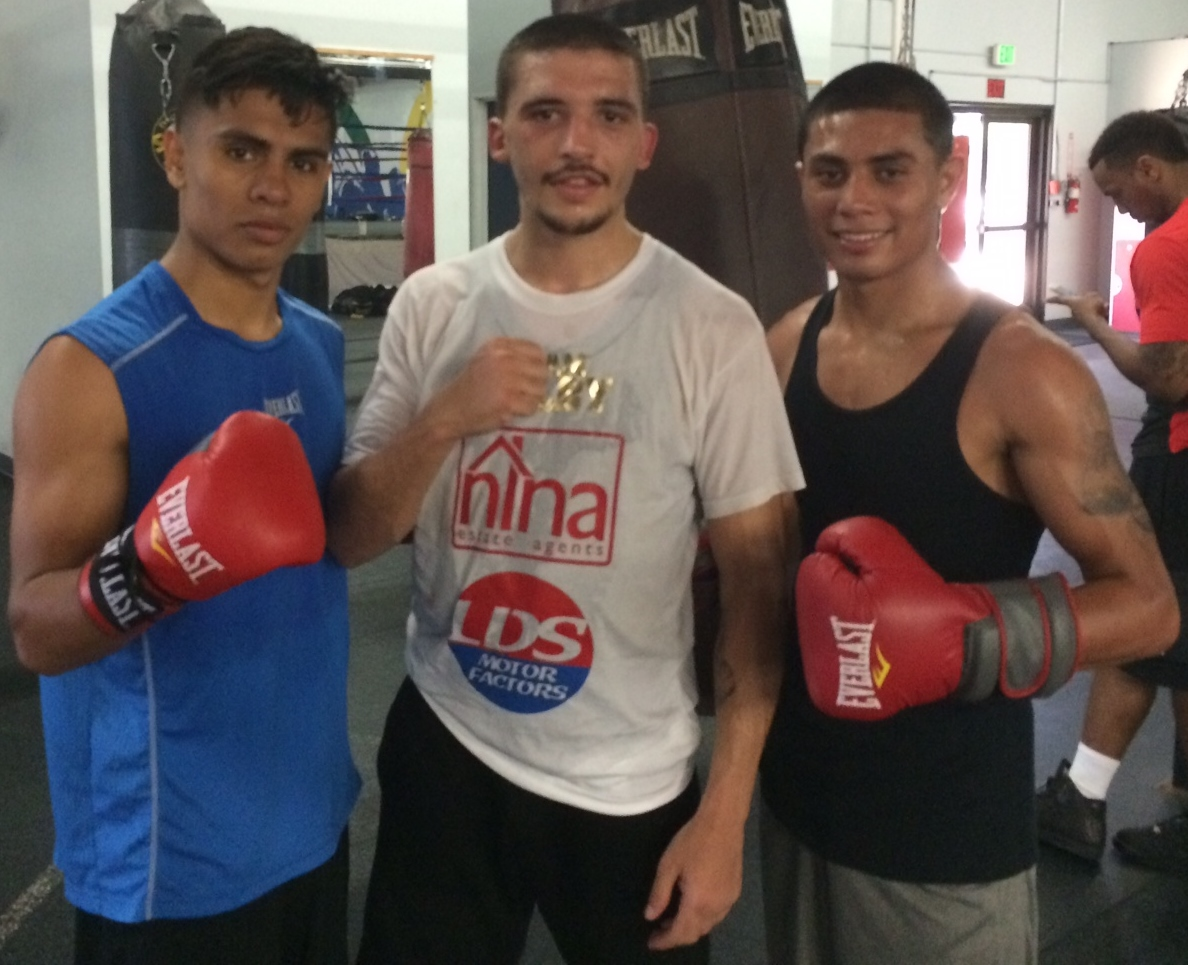 LA: Lee Selby with sparring partners