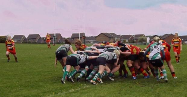 MATCH ACTION: Barry Bombettes versus Croesyceiliog