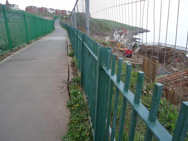 REPAIR: Eastern promenade footpath