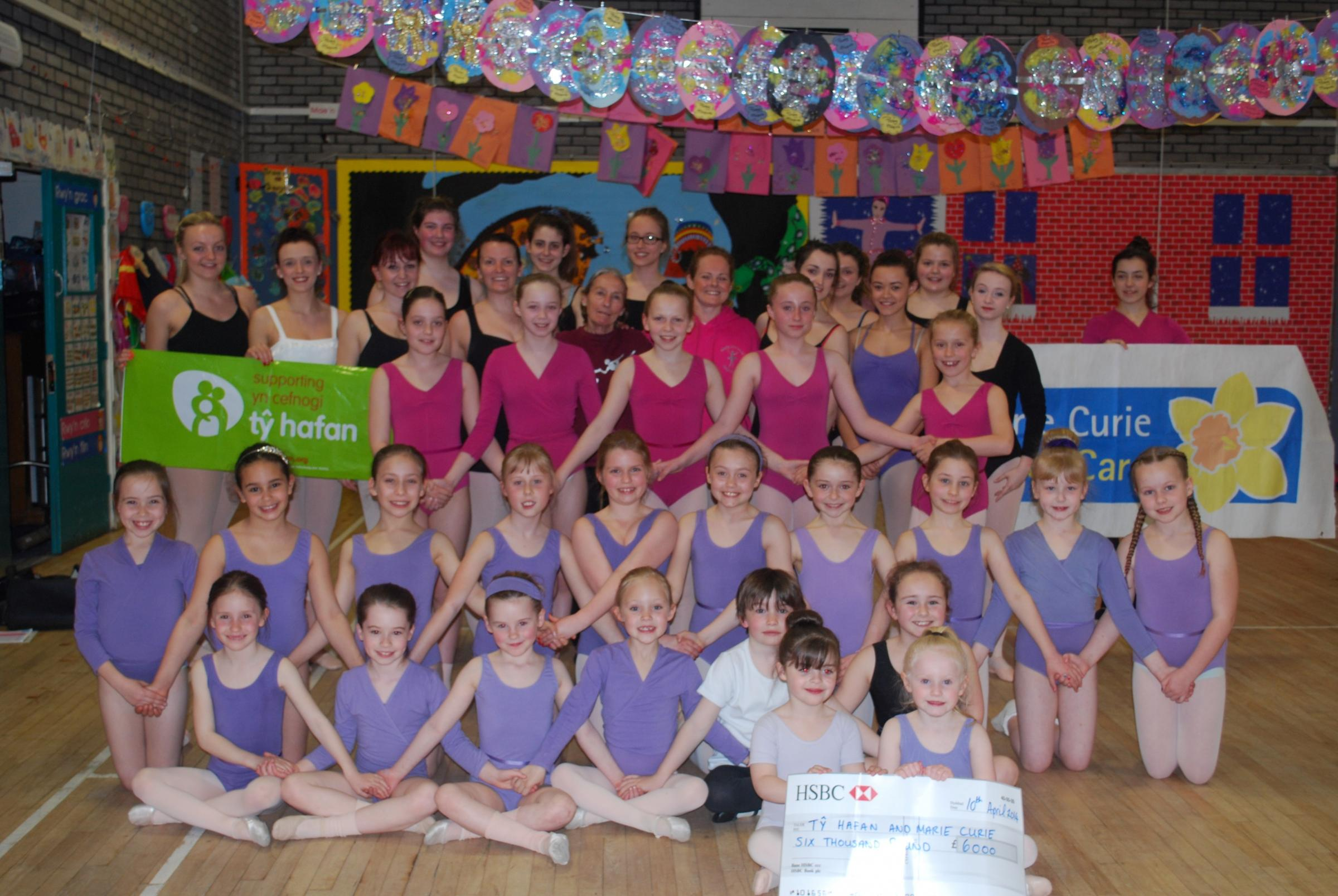 The Wendy Summerell School Of Dance presented a wonderful show