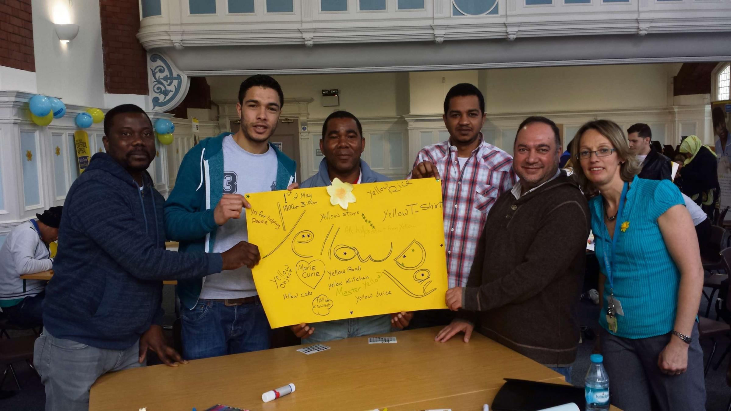 CAMPAIGN: ESOL students at Cardiff and Vale college