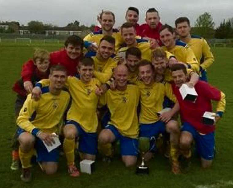 Long's hat-trick as Sully Sports lift the league cup