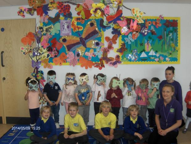 THE children at Gibbonsdown Children's Centre have been busy decorating butterflies for International Lupus Awareness Day on Saturday, May 10 (6105836)