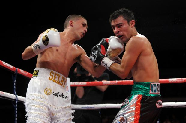 Lee Selby (left) and Romulo Koasicha (6356696)