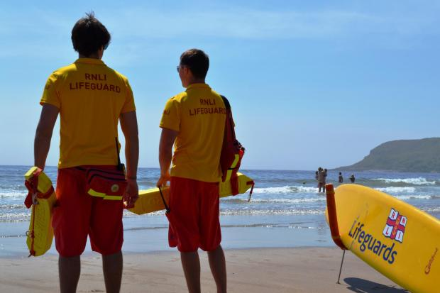 SAFETY: RNLI lifeguards are offering advice this summer