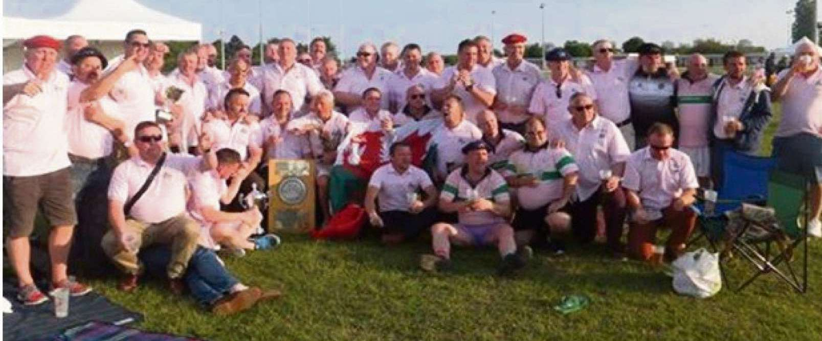 Barry Rugby Vets claim third European title