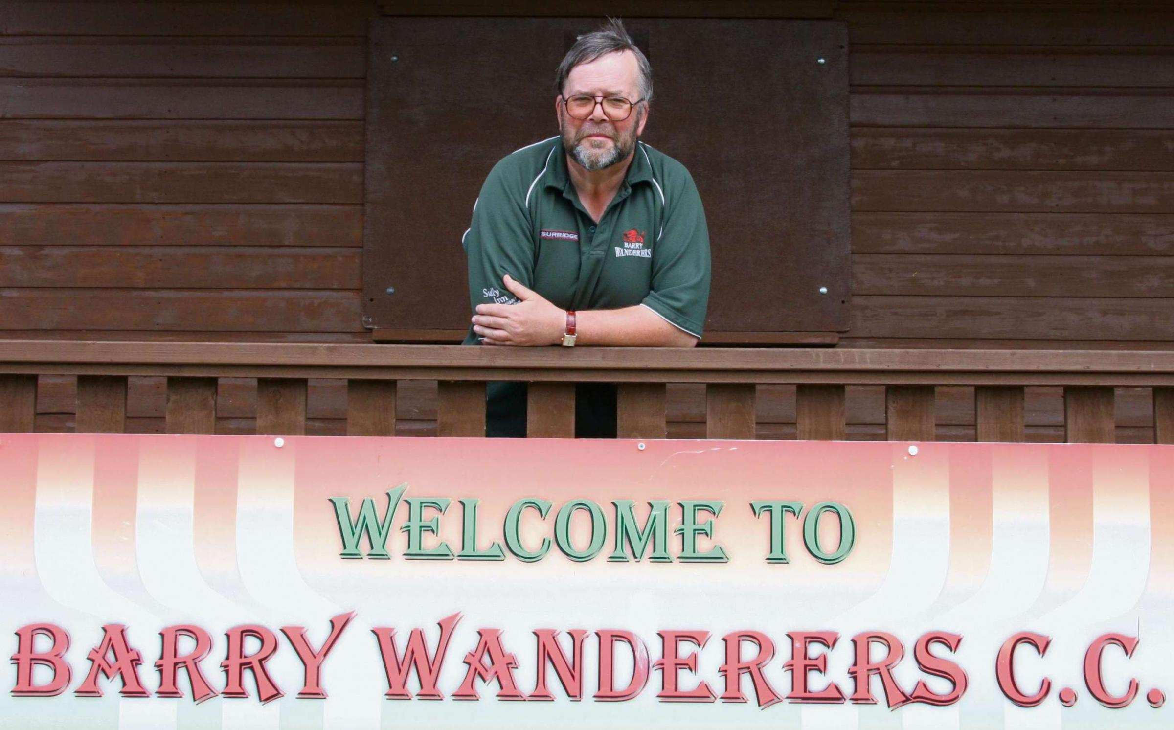 CLUB FOUNDER: On Bank Holiday Monday, May 26, Barry Wanderers Cricket Club hosts a special day in memory of founder Mike Ashton who sadly passed away in October last year.