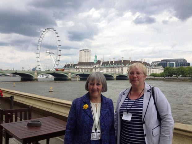 COMMONS VIEW: Susan Borges and sister Karen