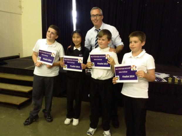 COLCOT Primary School hosted the first Cardiff and Vale Maths Challenge Finals on Monday June 9 (7050318)